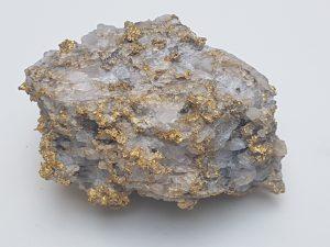 Sample taken from the Karora Resources Gold Mine, Western Australia