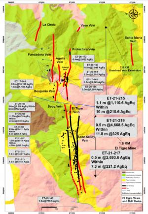 Silver Tiger Plan Map