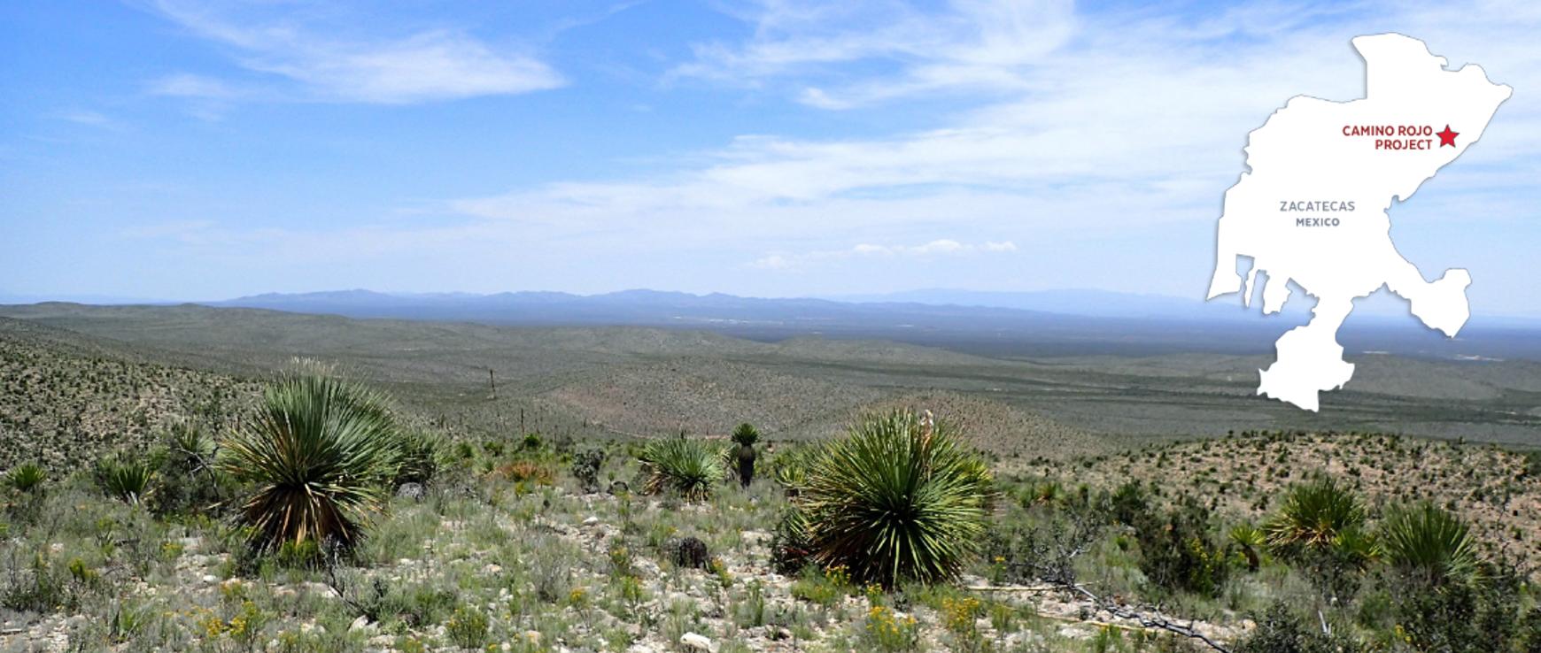 Orla MIning - Camino Rojo panoramic view