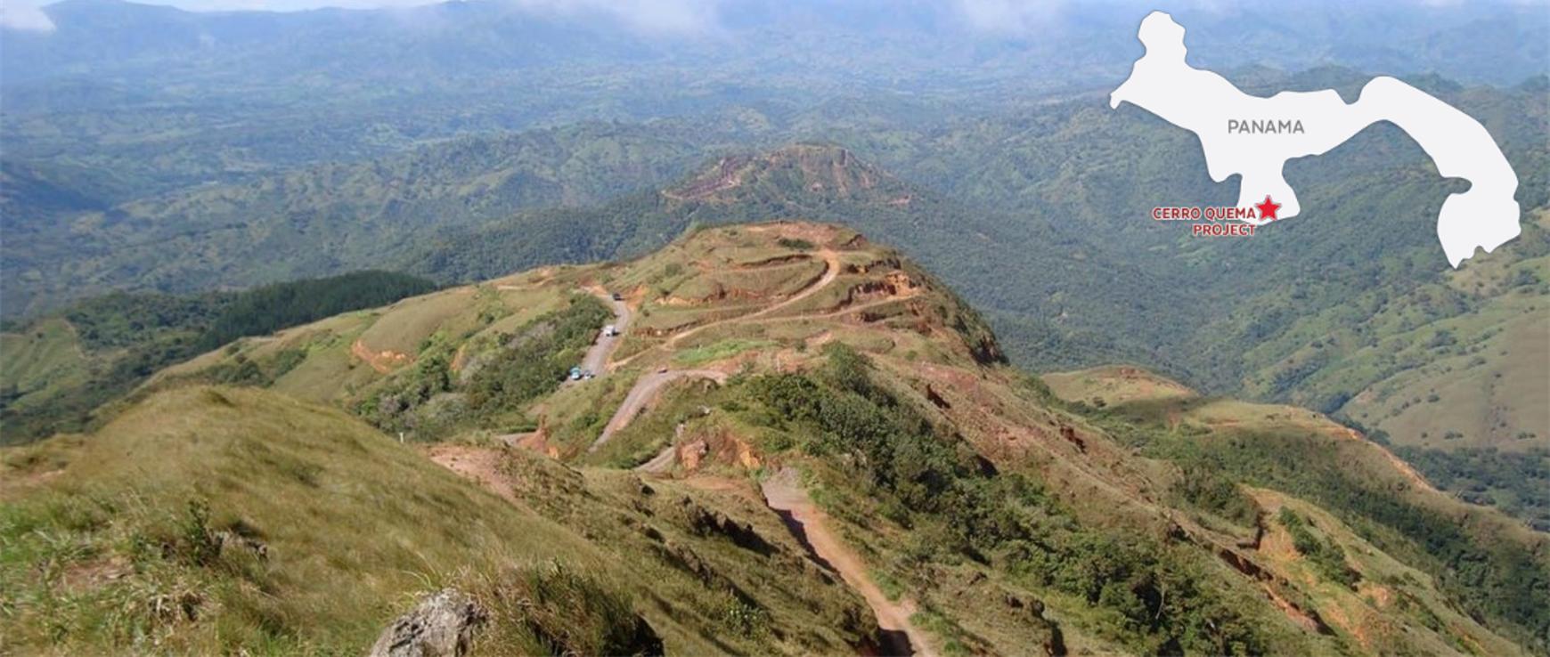 Orla Mining Cerro Quema vista