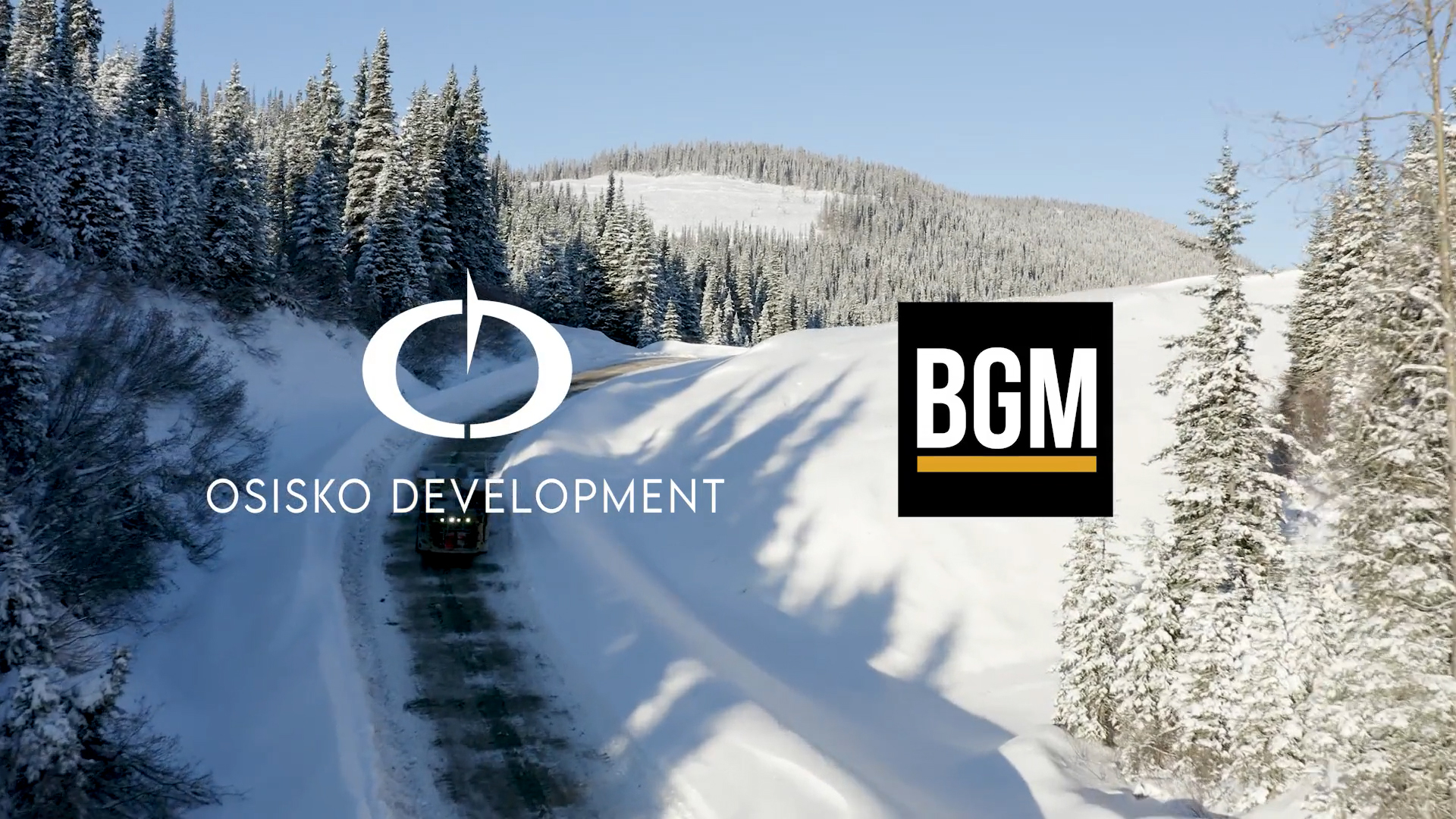 Osisko Development logo BGM logo